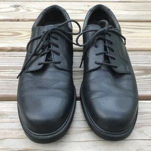 Rockport Shoes Men Shoe Black Leather Upper M9408 Lace U Poshmark